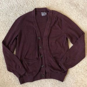 Oxford Button-Up Cardigan